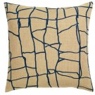 IKEA Varmer Pillow COVER Sham JUTE BLUE Cushion Cvr VÄRMER Kenya