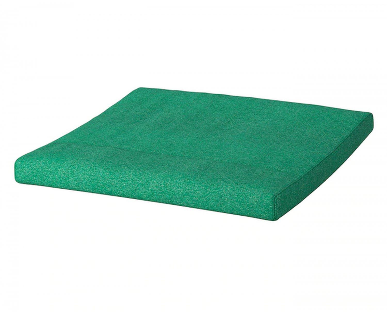 IKEA Poang PO�NG Footstool CUSHION Lysed BRIGHT GREEN Ottoman Cover