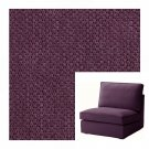 IKEA Kivik 1 One Seat Sofa SLIPCOVER One-seat Chair Cover DANSBO LILAC Purple