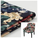 IKEA Sakarias Chair with armrests COVER Armchair Slipcover LINGBO MULTI Floral Romantic Boho