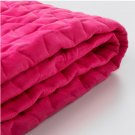 IKEA Lycksele Sofa Bed SLIPCOVER Futon Cover VALLARUM CERISE Hot Pink Quilted