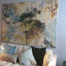 IKEA Premiar FOREST AMBIANCE Canvas and Frame WALL ART Print HUGE Tree Canopy PREMIÄR Mandala
