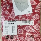 IKEA Ektorp JENNYLUND Armchair SLIPCOVER Chair Cover BRUNFLO RED White FLORAL
