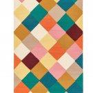 "IKEA Vinderod RUG Limited Edition Wool Hand-Woven Textile Art 4'4""x6'5"" VINDERÖD Flatwoven"
