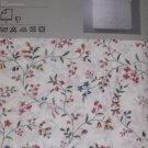 IKEA Alvine Blom KING Duvet COVER Pillowcases Set Floral White Blue Red Green