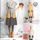 Simplicity 1080 Misses Dress or Tunic Dottie Angel Pattern Size A (XS-S-M-L-XL)