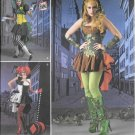 SIMPLICITY 1091 Misses Villainess Costumes Sewing Template, Size H5 (14-16-18-20-22)