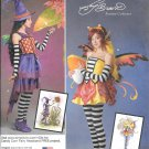 SIMPLICITY 1034 Amy Brown Candy Corn Fairy Fantasy Costume Pattern Size 6, 8, 10, 12, 14