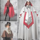 SIMPLICITY 1040 Shirley Botsford Men's Cape Fantasy Costume Pattern Size XS, S, M, L, XL