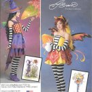 SIMPLICITY 1034 Amy Brown Candy Corn Fairy Fantasy Costume Pattern Size 14, 16, 18, 20, 22