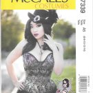 McCall's M7339 Yaya Hans Corset Sizes 6, 8, 10, 12, 14 Costume Pattern
