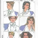 1980s Simplicity Blouse Top Jacket Shoulder Pads Pattern 7021