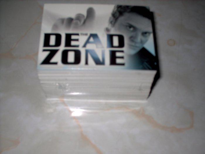 DEAD ZONE TV SERIES SEASONS 1 & 2 TRADING CARD SET - SHIPS FREE