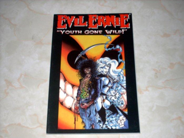 EVIL ERNIE - YOUTH GONE WILD  - TPB BOOK  + SHIPS FREE