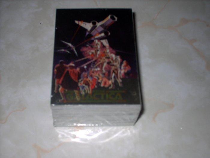 BATTLESTAR GALLACTICA 1996 DART 72 CARD  HOLOFOIL SET