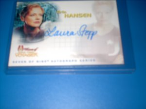 STAR TREK WOMEN OF VOYAGER SA4 Laura Stepp as Erin Hansen + SHIPS FREE
