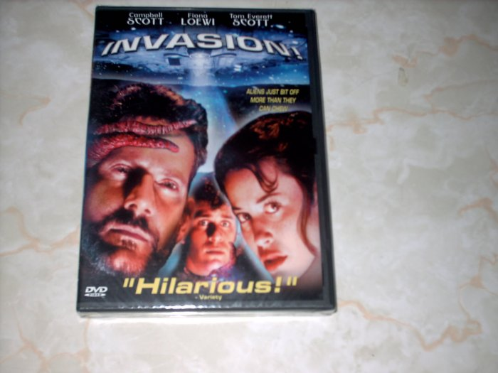 INVASION! - SCI FI COMEDY - NEW DVD - SHIPS FREE!