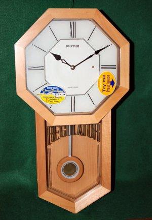 Maple Wall Clock by Rhythm Clock