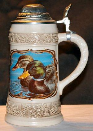 Gerz Mallard Wildlife beer Stein