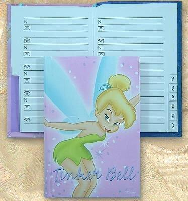 Tinker Bell Address Book - Pink