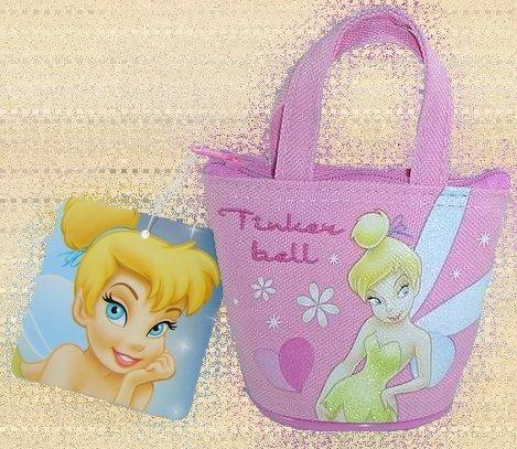 Tinker Bell Coin Purse - Lt. Pink