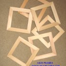"UNFINISHED PICTURE FRAMES 1"" MOULDING-YOU PICK SIZES 3X3,4x4,4x5,5x5,5X6,5x7,6x6 anything between"