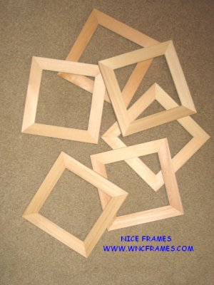 Unfinished Picture Frames 1 Moulding You Pick Sizes 3x34x44x55x5