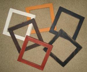 6 Primitive (distressed) frames 6x6