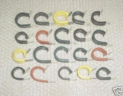 Mixed lot of Aircraft Adel Clamps