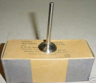 Jacobs Aircraft Engine NEW!! Exhaust Valve, 02305414