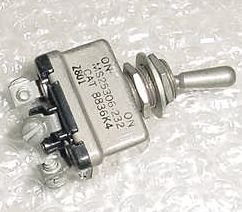 8836K4, MS25306-232, New Two Position Aircraft Toggle Switch