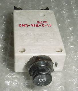 NEW!! 8A Aircraft Circuit Breaker, 41-2-S14-LN2-8A