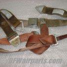 Lot of Aircraft Shoulder Harness Straps / Seat Belts / Hardware