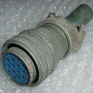 MS3106A20-27S, Amphenol Aircraft Cannon Plug Connector