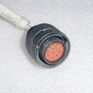 MS2466R12B12S7, MS2466R12B-12S7, Cinch Avionics Connector Plug