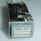 90EA1C3, Aircraft Instrument Panel Annunciator Light Switch