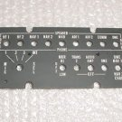 NEW!! ARC Audio Panel Faceplate, EL Lightplate, 12411-1118-2