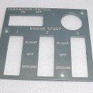 10-60725-1150, 1060725-1150, Boeing EL Light Plate Panel