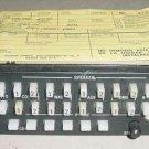 KA-119, 071-1087-01, King Avionics Audio Panel w Serviceable tag