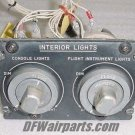 277-540152, 277540152, Sabreliner Lights Control Panel