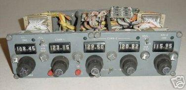 VHF Multi Comm Control Selector Panel, 3 Comms 2 Navs