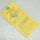 206-031-533-003, 206-031-533-3, Bell 206 Shim w/ Serv tag