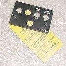 206-075-491-9, 206-075-491-009, EL Lightplate Panel w/ Serv Tag