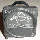 2 in 1 Volts Amps, Voltmeter Ammeter Indicator, HES-591