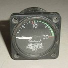 Twin Engine Beechcraft De-Icing Pressure Indicator