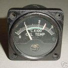 WWII Antique Aircraft Cylinder Temperature Gauge, 15Y1