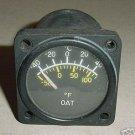 C668520-0104, Twin Cessna Aircraft Outside Air Temp Indicator