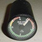 4000 PSI Rudder Hydraulic Pressure Indicator, SRL-07CH