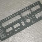 800666-529, New Twin Commander EL Lightplate Instrument Panel
