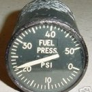 Vintage Warbird Jet Fuel Pressure Indicator, SR-6A